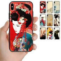 For Apple iPhone Series - Japan Theme Printed Back Case Mobile Phone Cover