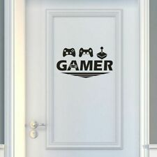 Wall Decal for Gamer Door Room Decor Boys Room Wall Sticker Removable