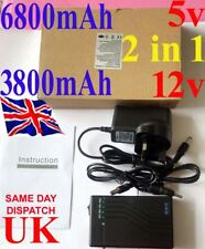 12V 3800mah 5V 6800mah USB DC Rechargeable Li-ion Battery Pack CCTV POWER BANK