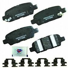 CARQUEST Brakes PXD1288H Rear Premium Ceramic Brake Pads