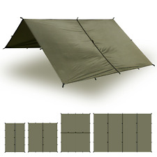 Aqua Quest Safari 13 x 10 ft Large Waterproof Tarp - Olive Drab