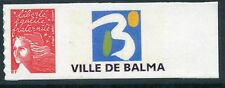 TIMBRE PERSONNALISE N° 3729A ** TYPE  MARIANNE / VILLE DE BALMA