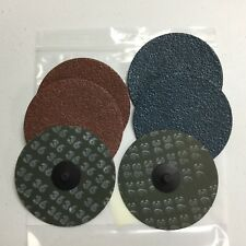 """Assorted Lot of Sanding Disks - 5"""", 4"""", 3"""" - 36, 60, 80, and 100 Grit - Discs"""