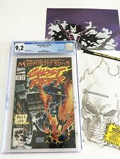 MARVEL COMICS Ghost Rider #v2 #28 CGC GR 9.2 White Pages 8/92 Poly-Bag Gatefold