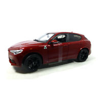 Bburago 21086 Alfa Romeo Stelvio dunkelrot Maßstab 1:24 Modellauto NEU! °