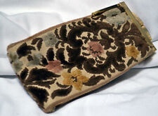 Vintage Tapestry Fabric Eye Glass Case, Pre-Owned