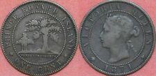 Fine 1871 Canada Prince Edward Island Large 1 Cent