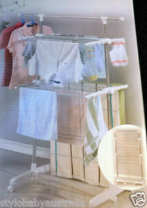 Portable Tiers Indoor Clothes *  Pickup $20  *  Laundry Drying Rack / Garments