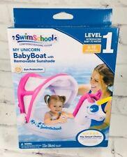 Swim School 6-18 Months Baby Boat Float my unicorn Level 1 Brand New Girl Pink