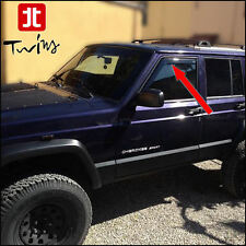 Deflettori Aria Antiturbo Oscurati Jeep Cherokee XJ 1997-2001 5 porte 5p