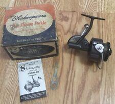 Vintage Shakespeare 2065 Spin Wonder Fishing Reel w/Original Box & Instructions!