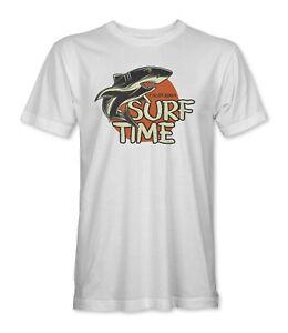 Surf Time California Shark Mens/Unisex T-Shirt