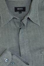 HUGO BOSS Regular Size Cotton Blend Casual Shirts for Men