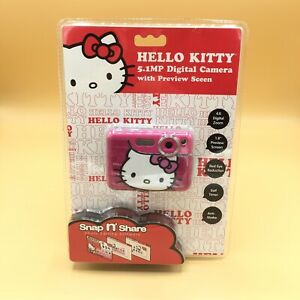 """Hello Kitty 5.1 MP Digital Camera with 1.8"""" Preview Screen - Kids First Camera"""