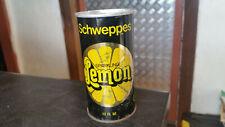 vintage schweppes sparkling lemon soft drink tin can