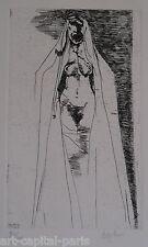 BASKIN LEONARD GRAVURE 1970 SIGNÉE AU CRAYON NUM/200 HANDSIGNED NUMB ETCHING