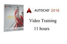 Learning Autodesk AutoCAD 2016 - 11 hour Video Training