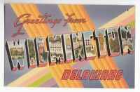 [48313] 1954 LARGE LETTER POSTCARD GREETINGS FROM WILMINGTON, DELAWARE