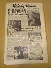 MELODY MAKER 1953 AUGUST 8 HARDIE RATCLIFFE PAT DODD KENNY BAKER FRANKIE LAINE
