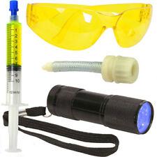 Kit détection fuites gaz climatisation auto automobile R134a seringue traceur UV