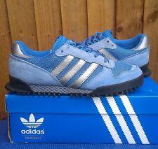 VINTAGE Adidas Marathon tr Blu CASUALS... UK 9