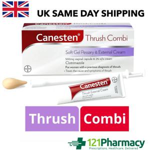 Canesten Thrush Combi Soft Gel Pessary & External Cream