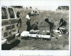 1978 Photo Russell County Disaster Training Exercise Auto Accident 10X8
