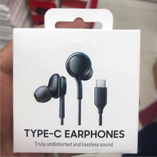 Samsung Galaxy Note 20/10 S20 S21 AKG Usb-C Auriculares Con Cable Tipo C 3.5MM Auriculares