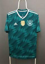 Adidas Germany 2018 2019 Away Football Shirt Jersey Green Size L Large
