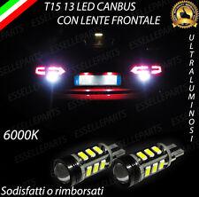 LAMPADE RETROMARCIA 13 LED T15 W16W CANBUS PER AUDI A4 B8 AVANT 6000K NO ERROR