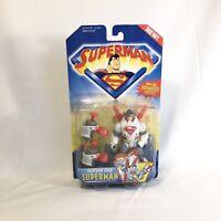 Superman Animated Series Neutron Star Superman NEW Action Figure Kenner 1996 JLA