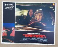 "AN EYE FOR AN EYE 1981 Original COMPLETE 11"" x 14"" Lobby Card Set Chuck Norris M"