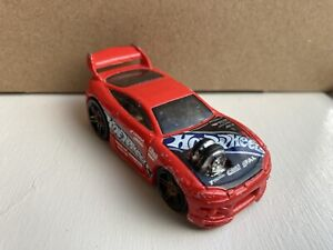 HOT WHEELS 2002 HTF MITSUBISHI ECLIPSE ~ LOOSE DIECAST - RED ~ FREE POST