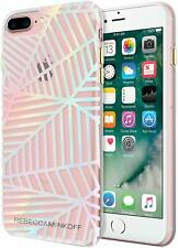 Rebecca Minkoff iPhone 8 Plus 7 Plus Geometric Case Cover Clear Holographic Foil