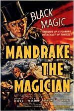 MANDRAKE THE MAGICIAN (1939, DVD MAGIC HERO OF RADIO & COMIC STRIPS)