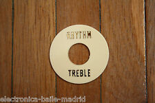 TOGGLE SWITCH RING WASHER IVORY GOLD 3 WAY SWITCH FOR GIBSON LES PAUL EPIPHONE