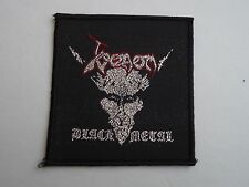 VENOM BLACK METAL WOVEN PATCH