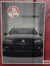HOLDEN VE SS COMMODORE POSTER, 90 cm x 60 cm, Official Holden Merchandise Ref:34
