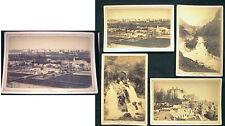 CIRCA 1880 4  PAU FRANCE VIEWS BY LAFON THERMAL - VUE GENERALE CHATEAU LA BASSE
