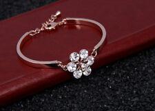 18K 750 Gold Armband Armreif Echt Schmuck Armkette Diamant Bracelet Rose 34€
