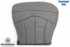 2001 Ford F-150 Lariat 4X4 2WD -Passenger Side Bottom Leather Seat Cover GRAY