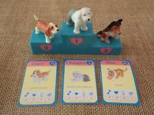 Vintage Hasbro Puppy in My Pocket Lot Set Zaney Champion Blair w/ Card