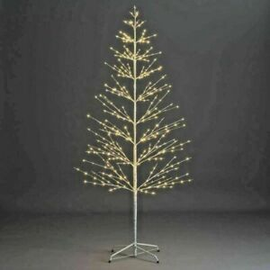 120cm Pre-Lit LED Firework Twig Tree Christmas Decoration Modern Warm White