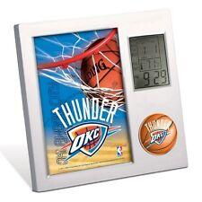 OKLAHOMA CITY THUNDER ~ Official NBA Team Desk Alarm Clock ~ New!
