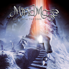 MindMaze - Back From The Edge (NEW*LIM.200 BLACK V.*US METAL*FEMALE VOC.*PHARAOH