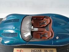 MAISTO SPECIAL EDITION JAGUAR XK180 1:18 PROMO DIECAST TOY METAL CAR--GREEN