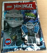 SACHET POLYBAG LEGO MINIFIGURE FIGURINE NINJA gris NINJAGO ZANE version glace V2