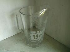 Heineken Glass Beer Ale Pitcher 64 oz Jug