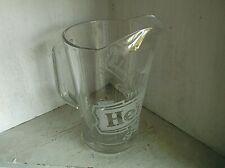 Heineken Glass Beer Ale Pitcher 64 oz Jug