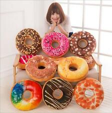 13Type Doughnut Donut Shaped Ring Plush Soft Novelty Style Cushion Pillow Cover